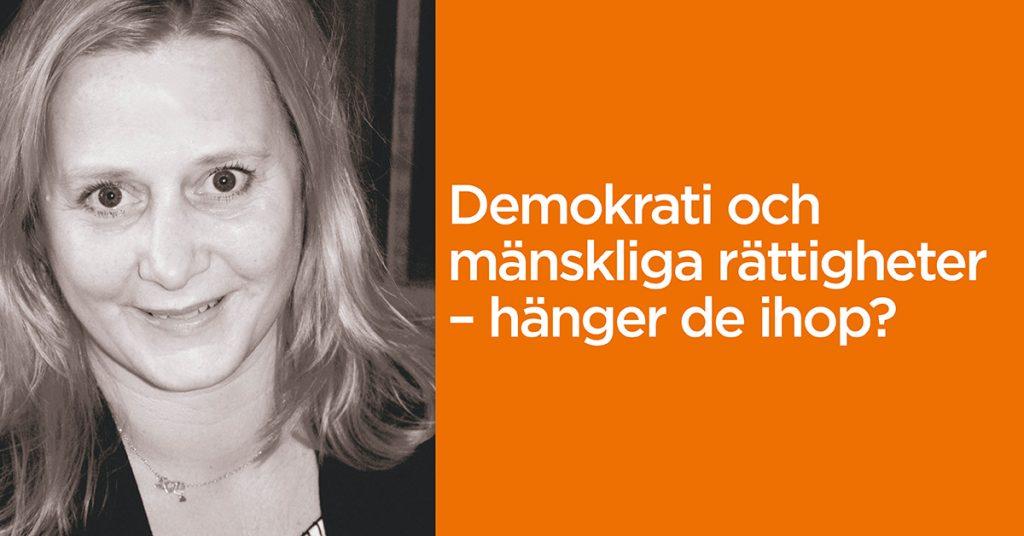 Anna Wigenmark föreläsning