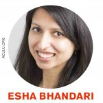 Ordfront presenterar Esha Bhandari
